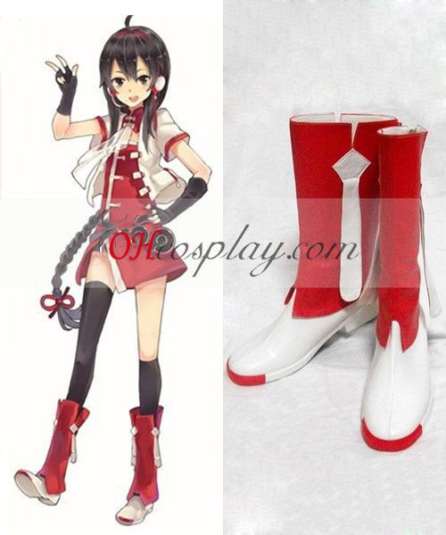 Vocaloid China Project Lin Caiyin Cosplay Schoenen