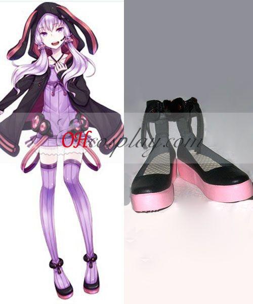 Yuzuki Yukari Cosplay Vocaloid 3 Sapatas