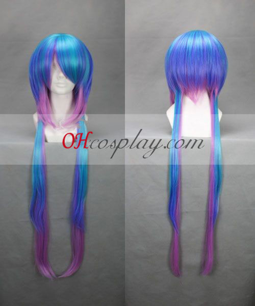 Vocaloid Lapis Blue & Purple Cosplay Pruik