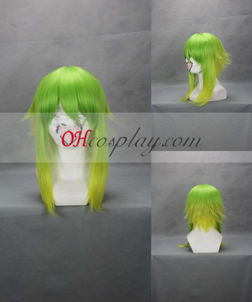 Vocaloid Gumi Green Grass Costume Carnaval Cosplay perruque
