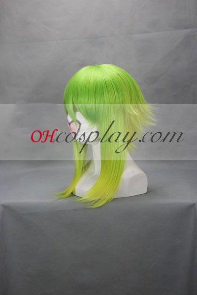 vocaloid gumi דשא ירוק קוספליי פאה