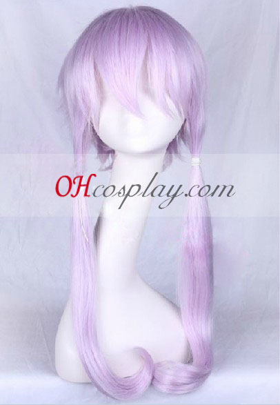 Vocaloid 3 Yuzuki Yukari Light Purple perruque de Costume Carnaval Cosplay