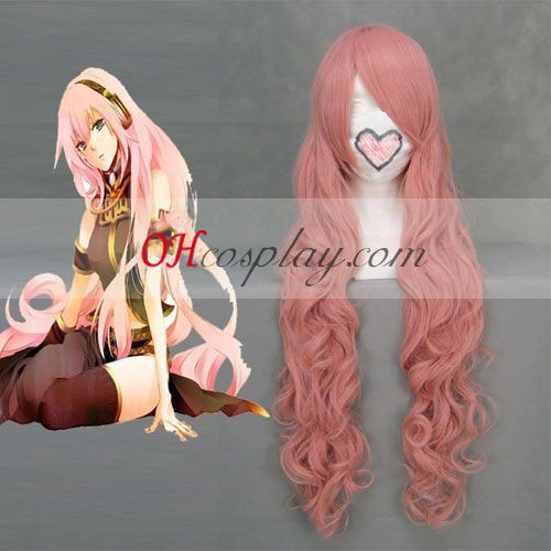 Vocaloid Luka Pink udklædning Paryk