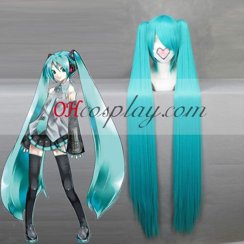 Vocaloid Miku Blue Cosplay Pruik
