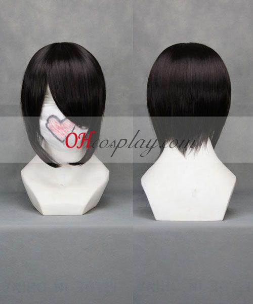 Vocaloid Miku čierna Cosplay parochňu