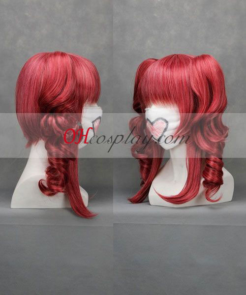 Vocaloid Teto Wine Red Cosplay Wig Cosplaymade Com
