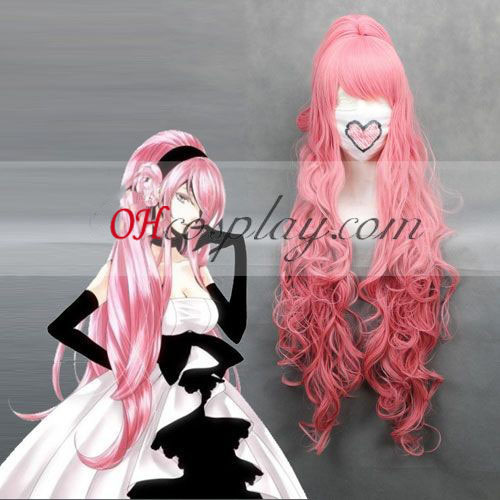 Vocaloid Luka Pink Cosplay Wave peruk