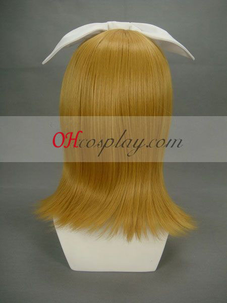 Vocaloid Kagamine Rin / Len Yellow udklædning Paryk