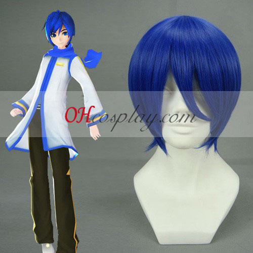 Vocaloid Kaido Dark Blue Cosplay Wig