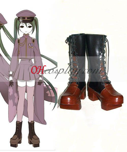 Vocaloid Mil Cherry Tree Miku Cosplay zapatos