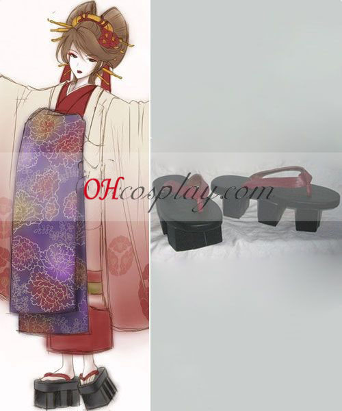 Vocailoid Thousand Cherry Tree Meiko Geisha Cosplay Kostüme Schuhe