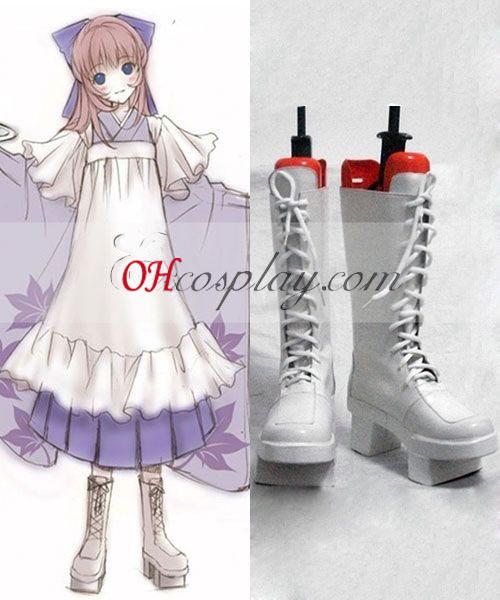 Vocaloid Megurine Lukan Cosplay kengät