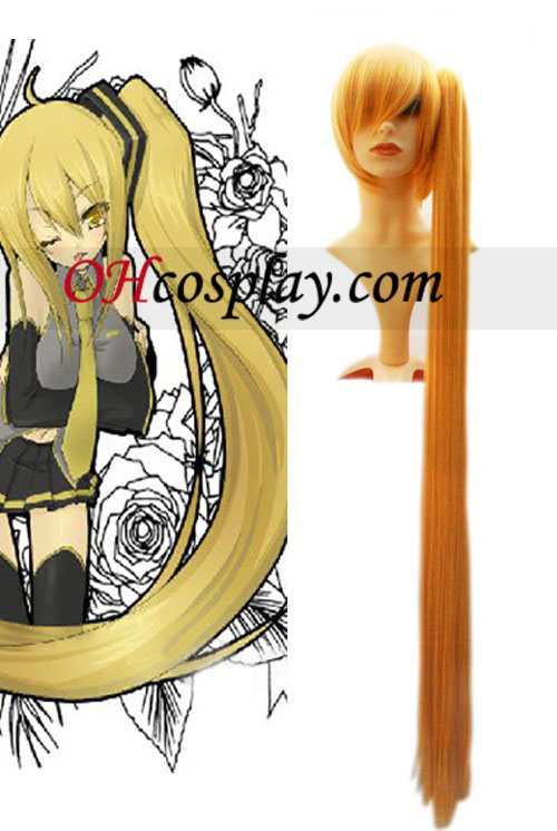 Vocaloid 120cm Cosplay peruca