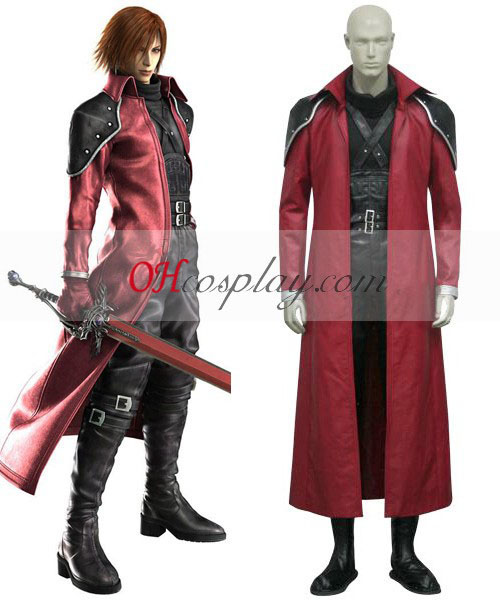 Final Fantasy VII Genesis Rhapsodos Cosplay kostumov Deluxe