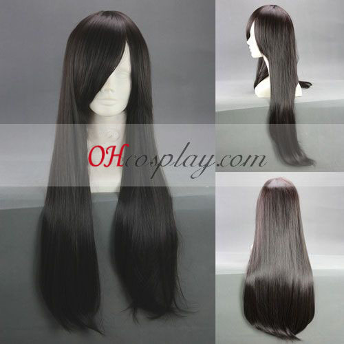 Final Fantasy Type-0 Queen Black Cosplay Wig