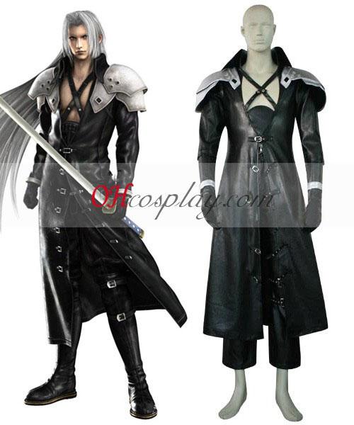 Final Fantasy VII 7 Sephiroth Deluxe Costumi Carnevale Cosplay