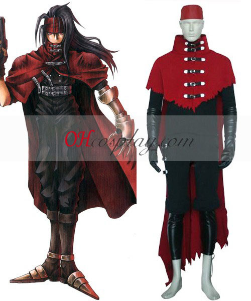 Vincent Valentine Final Fantasy VII Cosplay Traje