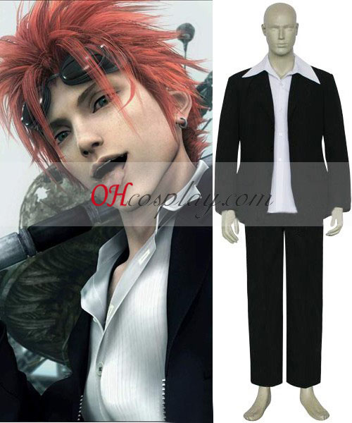 Reno Final Fantasy VII Cosplay Traje