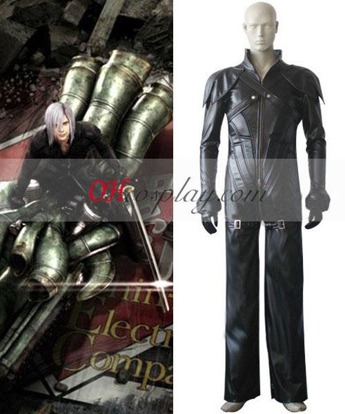 Final Fantasy VII Kadaj Costume Carnaval Cosplay