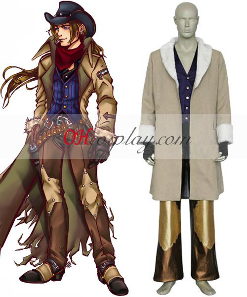 Final Fantasy VIII Irvine Kinneas Costume Carnaval Cosplay