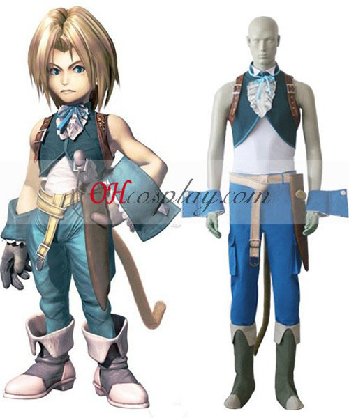 Final Fantasy IX Zidane Tribal Cosplay Traje