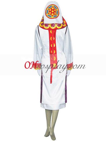 Final Fantasy XII Yuna White Mage udklædning Kostume