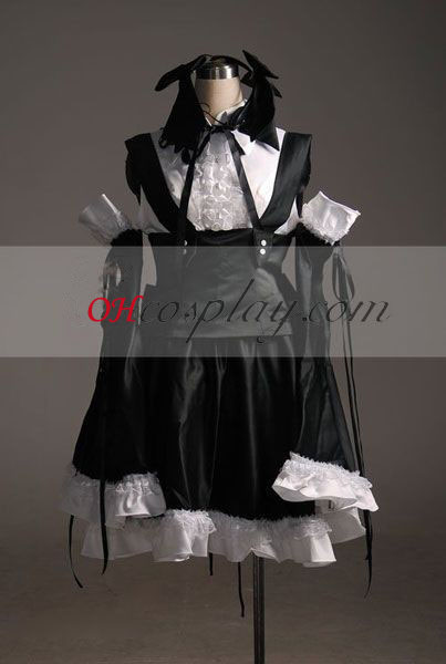 Vocaloid Miku Project Diva Cosplay Costume-Advanced Aangepaste