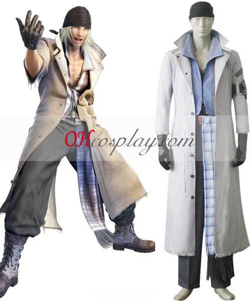 Final Fantasy XIII snehové Villiers Cosplay kroj