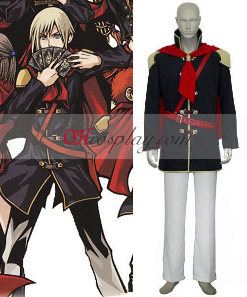 Final Fantasy Agito XIII Boy cosplay uniforme