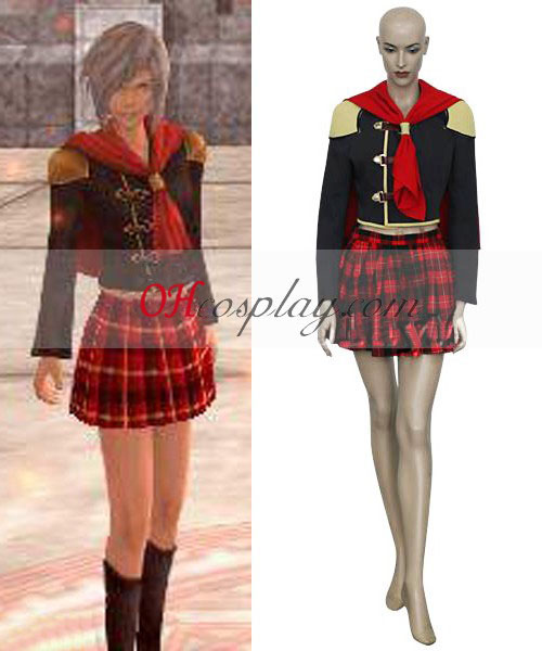 Final Fantasy Agito XIII chica cosplay uniforme