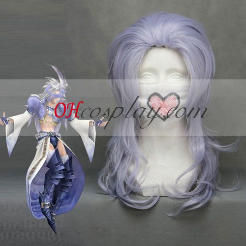 Final Fantasy9 Kuja luz azul cosplay peluca