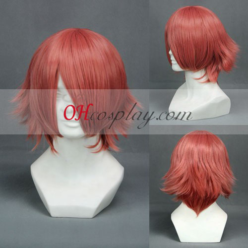 Final Fantasy Type-0 Cater Red Cosplay peruk