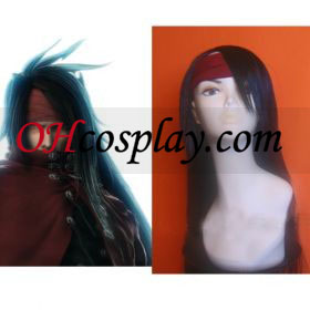 Final Fantasy VII Vincent Valentine Cosplay Wig