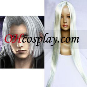 Final Fantasy Sephiroth Cosplay parókában