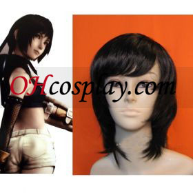 Final Fantasy VII Yuffie Kisaragi Cosplay Wig