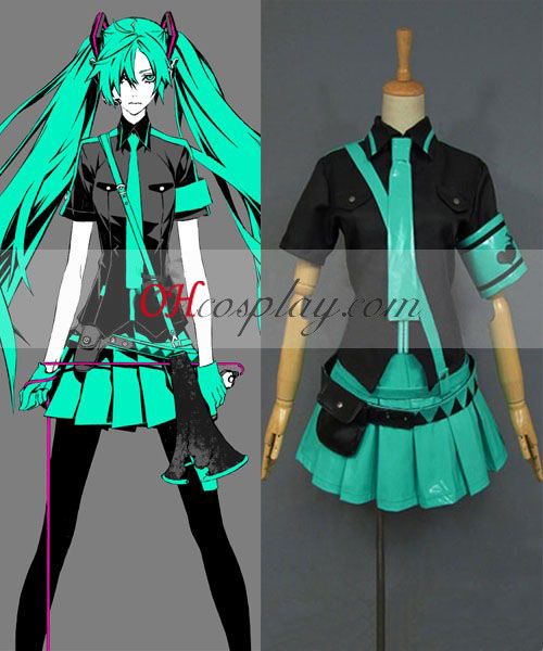 Vocaloid 2 Love has been war Miku Cosplay Costume