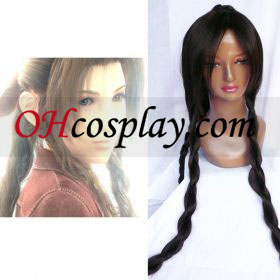 Final Fantasy Aerith Gainsborough Cosplay parykk