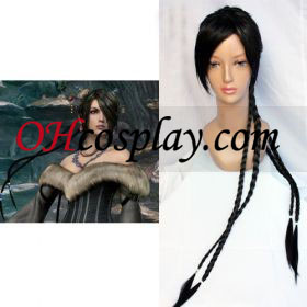Final Fantasy X 10 lulu Cosplay parykk