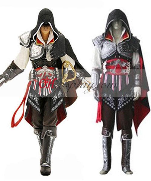 Assassins Creed II Ezio Black Edition udklædning Kostume