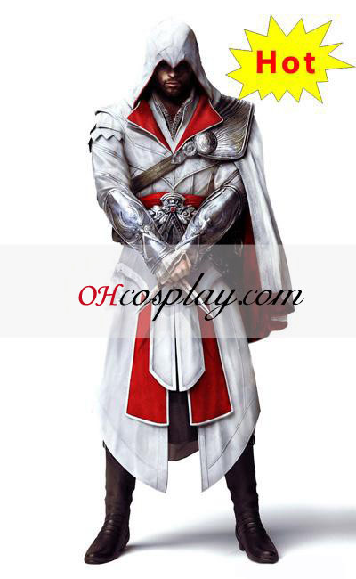 Assassins Creed III Brotherhood Ezio Halloween udklædning Kostume