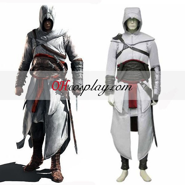 Creed Altair Cloth Cosplay del traje de Halloween del asesino