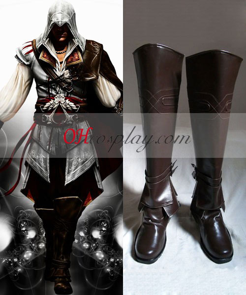 Assassin's Creed II Ezio Cosplay støvler