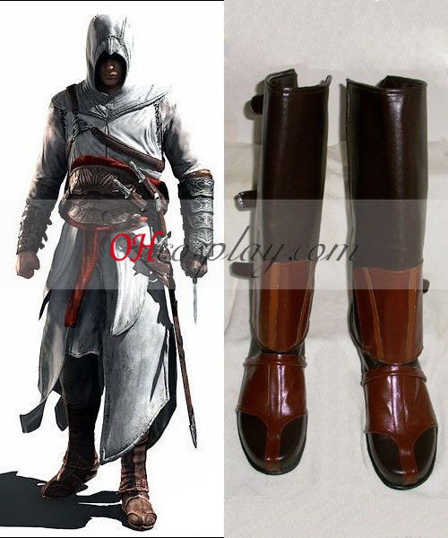 Creed II Ezio Costume Carnaval Cosplay Bottes de Assassin