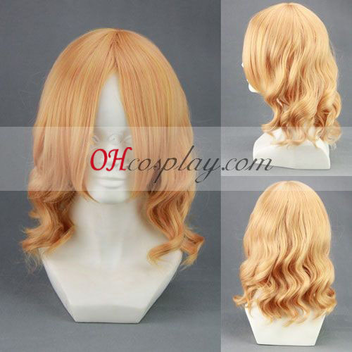 Hetalia France Yellow Cosplay Wig