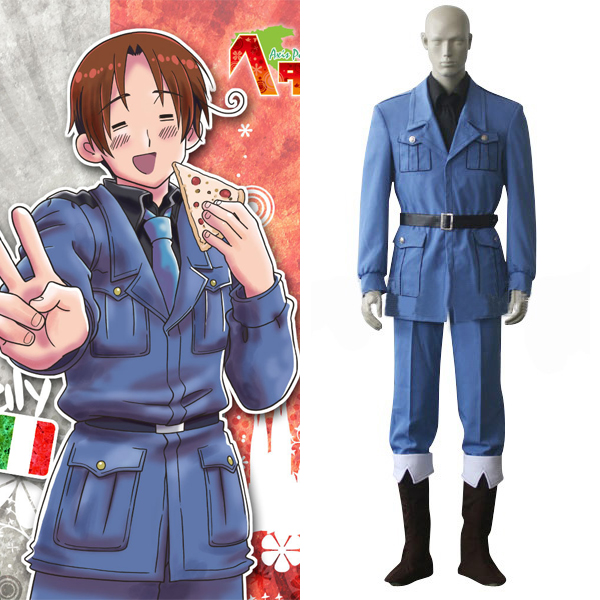 Италия анимэ костюм с державами Оси Hetalia