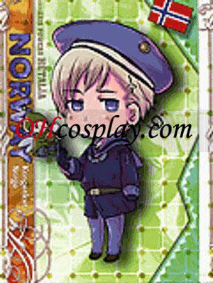 Noorwegen Cosplay Kostuum van Axis Powers Hetalia