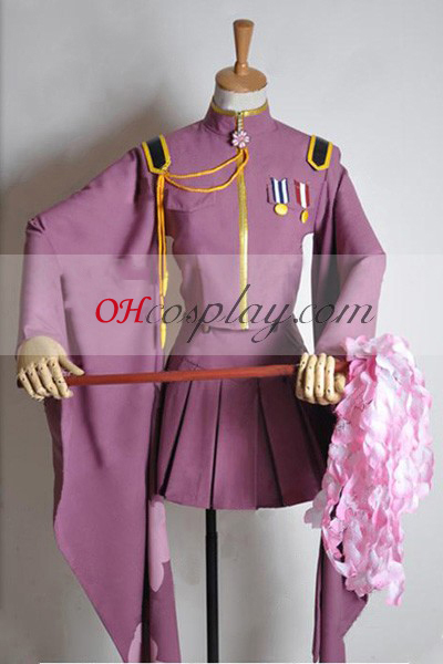 Vocaloid Thousand Cherry Tree Miku Uniform udklædning Kostume