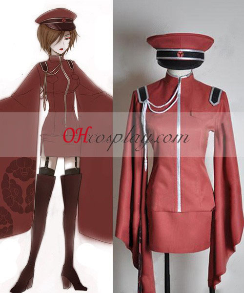 Vocaloid Thousand Cherry Tree Meiko Uniform Cosplay Costume