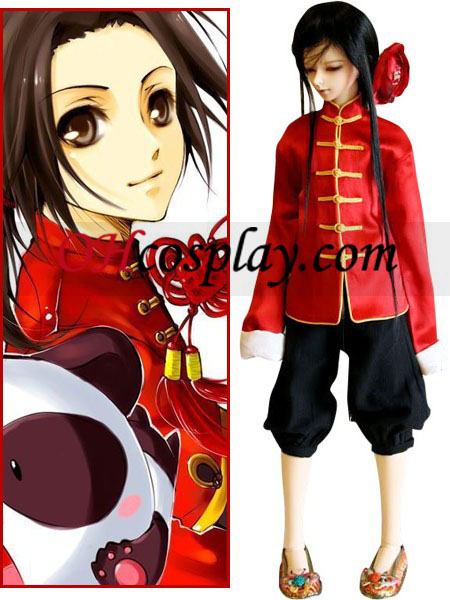 China Wang Yao Cosplay Hetalia traje de poderes do Eixo