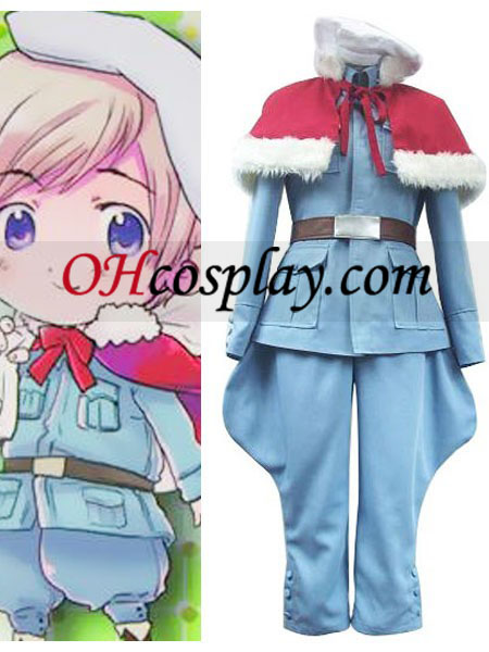 Tino Vainaminen Cosplay Costume from Axis Power Hetalia